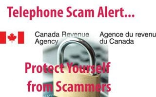 Canada Revenue Authority Scam
